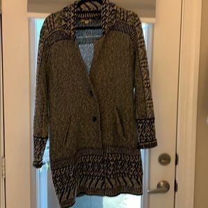 Lucky brand sweater coat